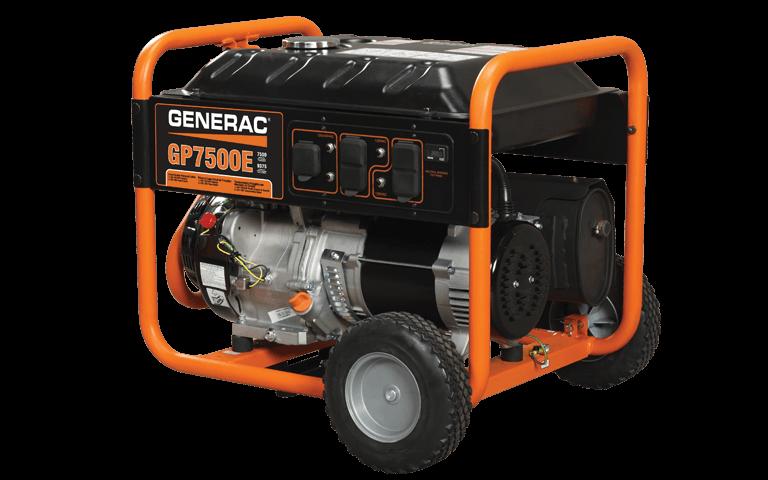 2015 Generac GP7500E in Athens, Ohio