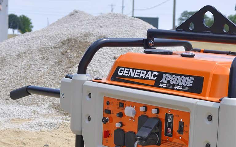 2015 Generac XP8000E in Athens, Ohio
