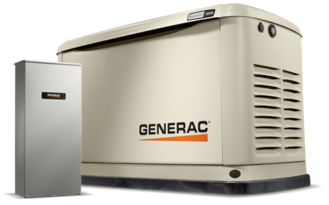 Generac Guardian 20 kW Home Backup Generator with Whole House Switch in Atlantic Beach, Florida