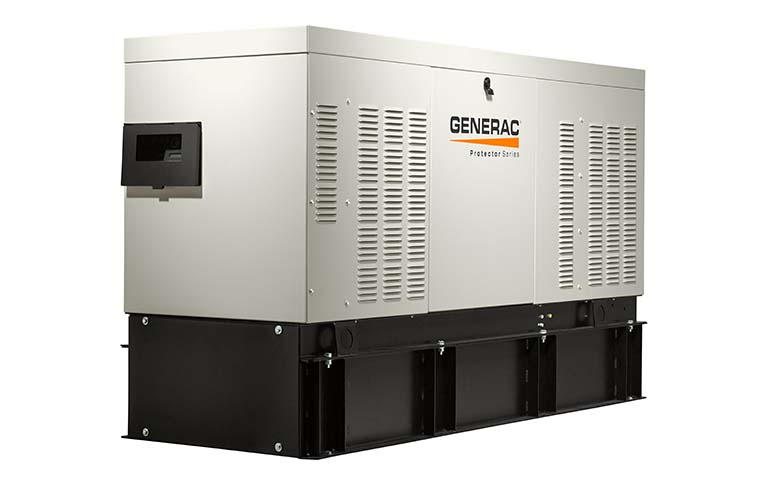 2018 Generac Protector 20 kW Diesel Home Backup Generator in Hillsboro, Wisconsin - Photo 2