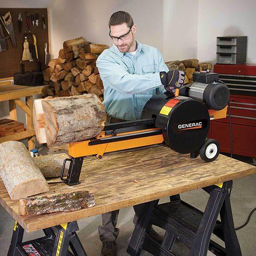New 2018 Generac G10 Kinetic Electric Woodsplitter Logging