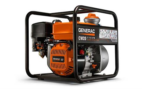 2018 Generac 2 in. Clean Water Pump in Atlantic Beach, Florida