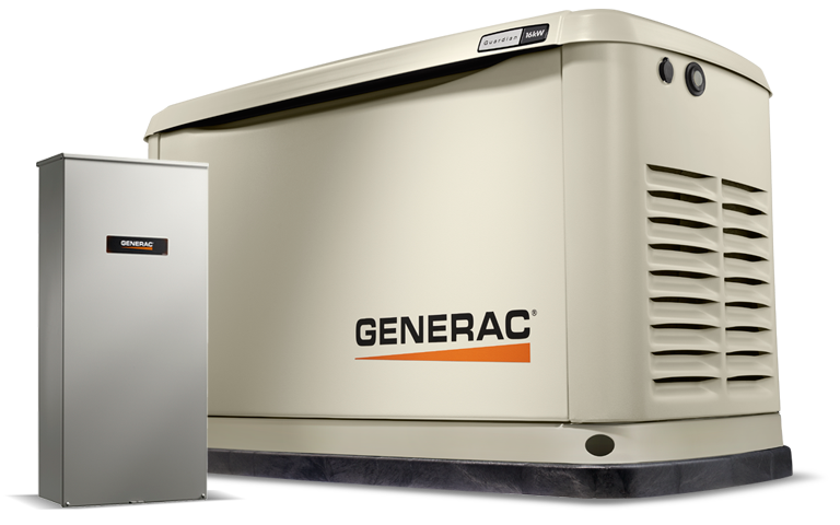 Generac Guardian 20 kW Home Backup Generator with Whole House Switch in Athens, Ohio