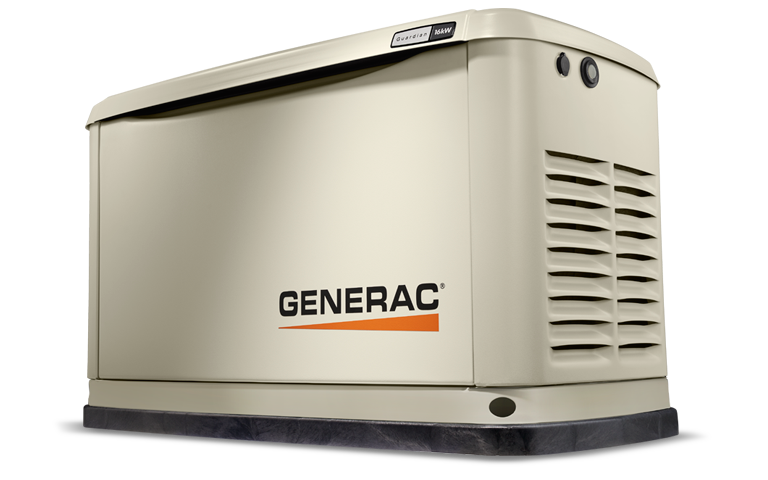 Generac Guardian Series 16 kW Home Backup Generator in Athens, Ohio
