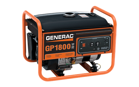 Generac Portable Generators GP1800 5981-2 in Hillsboro, Wisconsin