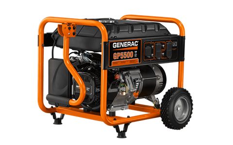 Generac Portable Generators GP5500 5939-5 in Ponderay, Idaho