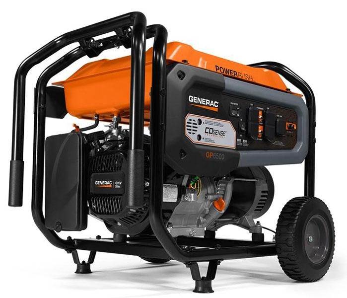 2019 Generac Portable Generators GP6500 Co-Sense 76830 in Hillsboro, Wisconsin - Photo 1