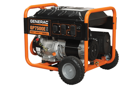 Generac Portable Generators GP7500E 5943-4 in Ponderay, Idaho