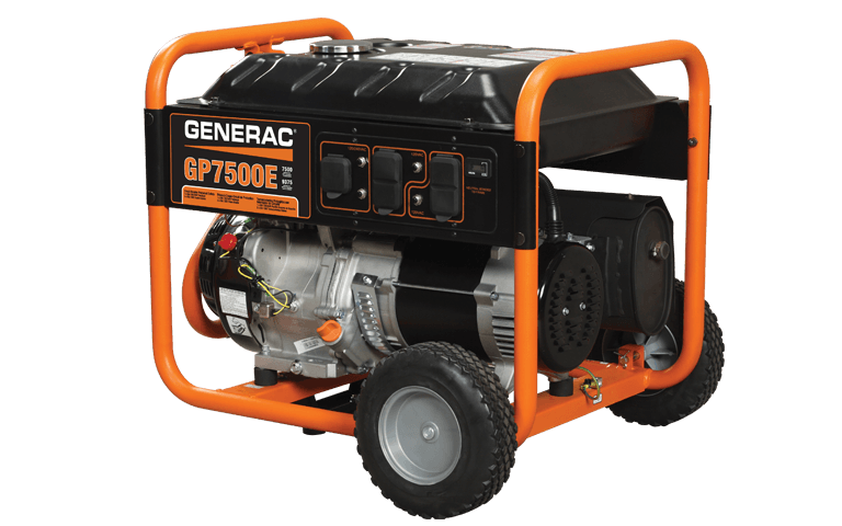 Generac Portable Generators GP7500E 5943-7 in Hillsboro, Wisconsin
