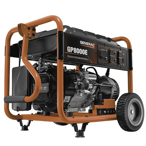 Generac Portable Generators GP8000E 6954-0 in Hillsboro, Wisconsin