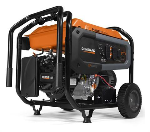 Generac Portable Generators GP8000E 7686-0 in Hillsboro, Wisconsin