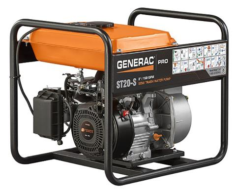 Generac PRO 2 in. Semi-Trash Pump ST20-S in Ponderay, Idaho