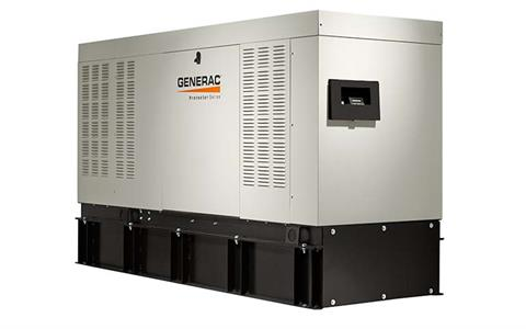 Generac Protector Diesel 50kW Home Backup Generator in Brooklyn, New York