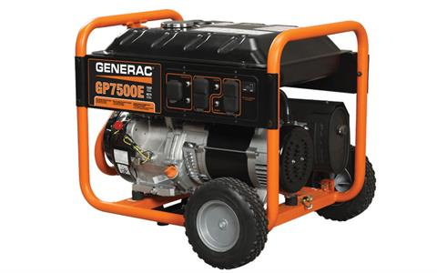 Generac Portable Generators GP7500E 5943-5 in Hillsboro, Wisconsin