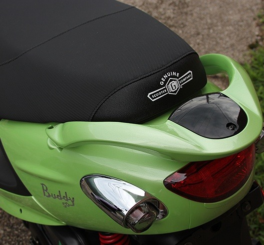 2016 Genuine Scooters Buddy 125 in Hendersonville, North Carolina