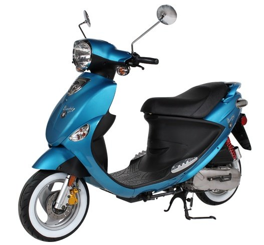 2016 Genuine Scooters Buddy 50 - 10 Year Anniversary Edition in Hendersonville, North Carolina