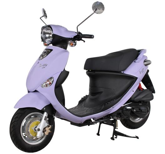 2017 Genuine Scooters Buddy 125 in Hendersonville, North Carolina