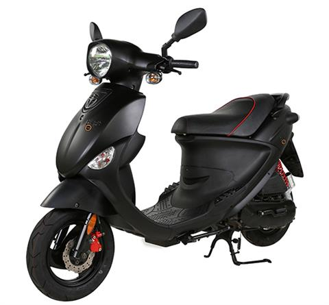 2017 Genuine Scooters Buddy Eclipse 125 in Sturgeon Bay, Wisconsin
