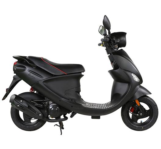 2017 Genuine Scooters Buddy Eclipse 125 in Hendersonville, North Carolina