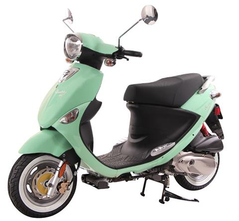 2017 Genuine Scooters Buddy 170i in Greensboro, North Carolina