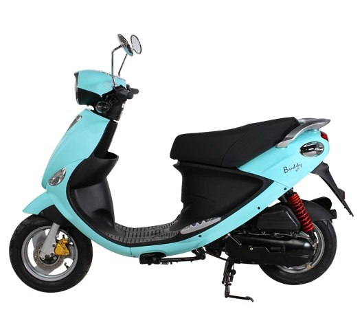 2017 Genuine Scooters Buddy 50 in Hendersonville, North Carolina