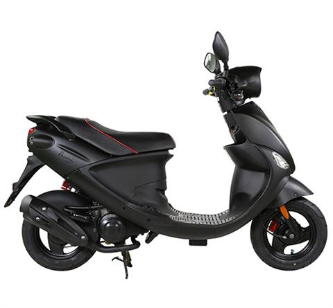 2017 Genuine Scooters Buddy Eclipse 50 in Rochester, Minnesota