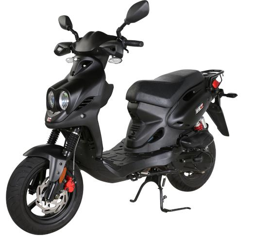2017 Genuine Scooters Roughhouse 50 Sport in Sturgeon Bay, Wisconsin
