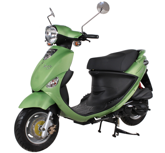 2018 Genuine Scooters Buddy 125 in Winterset, Iowa