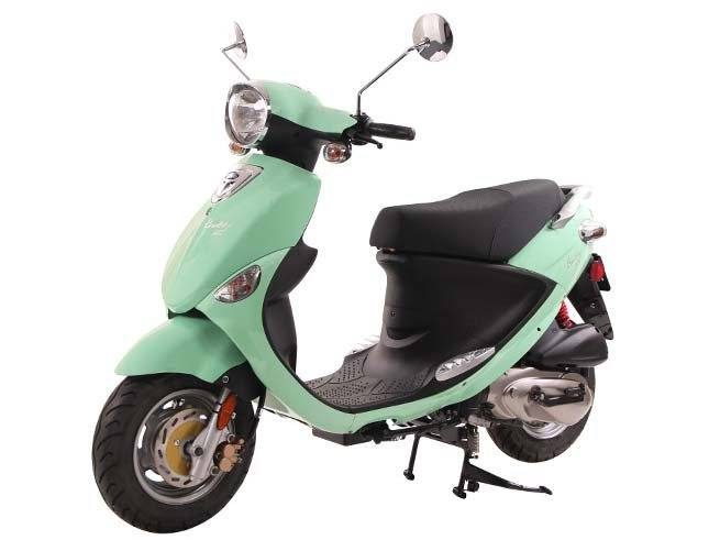 2018 genuine scooters buddy 125 seafoam scooters tulare california 6044. Black Bedroom Furniture Sets. Home Design Ideas