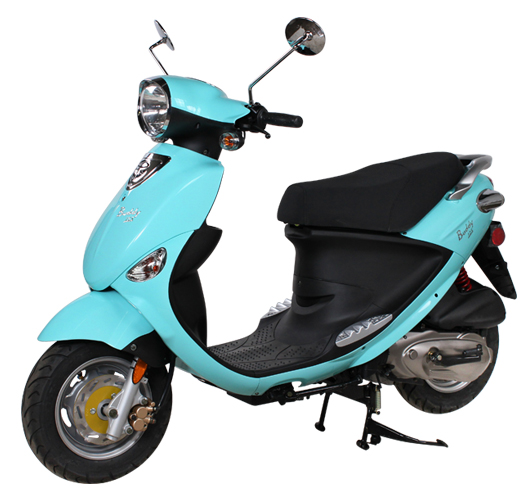 2018 Genuine Scooters Buddy 125 in New Haven, Connecticut