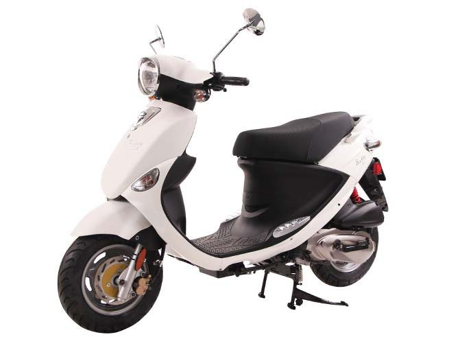 new 2018 genuine scooters buddy 125 scooters in paso robles ca stock number gen018982. Black Bedroom Furniture Sets. Home Design Ideas