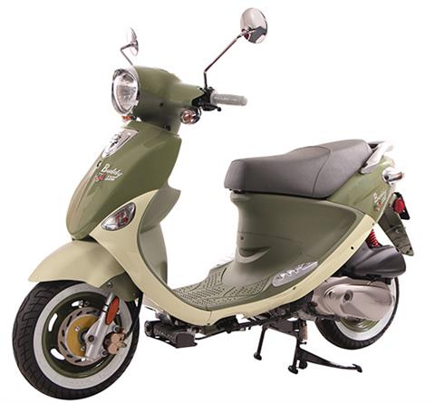 2018 Genuine Scooters Buddy 170i in Greensboro, North Carolina