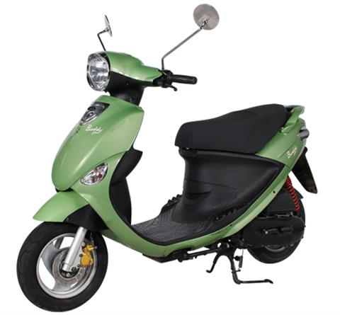 2018 Genuine Scooters Buddy 50 in Arlington Heights, Illinois