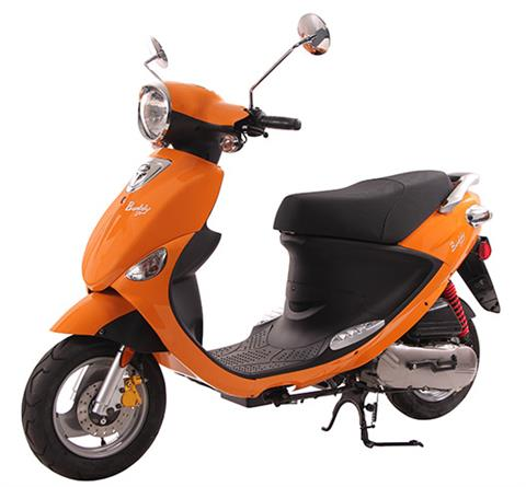 2018 Genuine Scooters Buddy 50 in Sturgeon Bay, Wisconsin