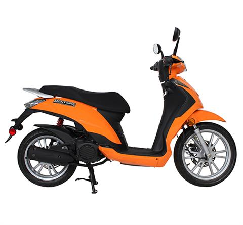 2018 Genuine Scooters Venture 50 in Gaylord, Michigan