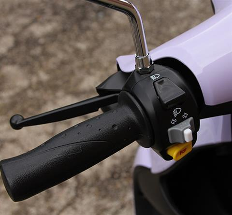 2019 Genuine Scooters Buddy 125 in Dearborn Heights, Michigan - Photo 4