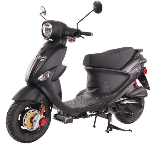 2019 Genuine Scooters Buddy 170i in Paso Robles, California - Photo 1