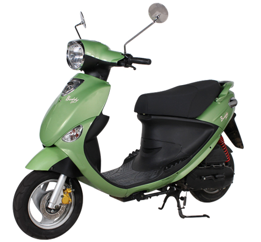 2019 Genuine Scooters Buddy 50 in Sturgeon Bay, Wisconsin - Photo 1