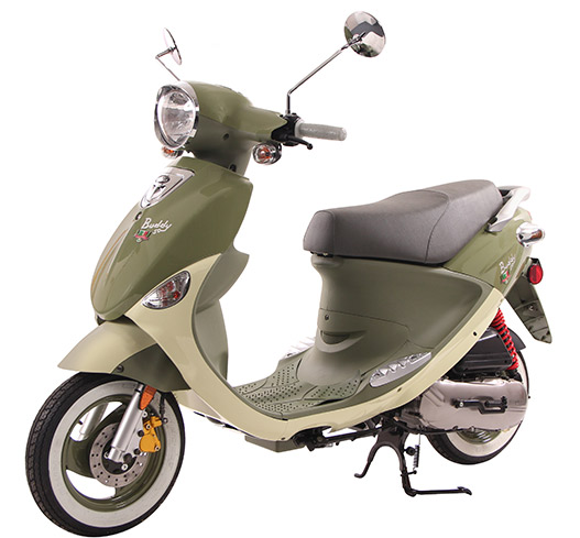 2019 Genuine Scooters Buddy 50 (Little Internationals) in Winterset, Iowa