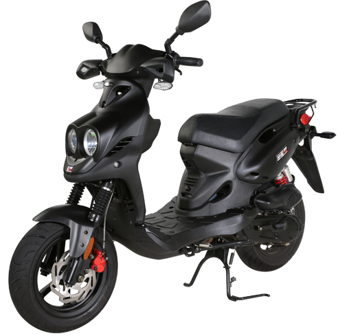 2019 Genuine Scooters Roughhouse 50 Sport in Evansville, Indiana
