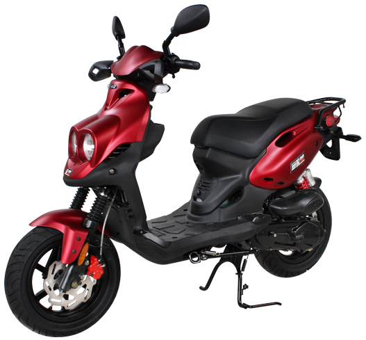 2019 Genuine Scooters Roughhouse 50 Sport in Dearborn Heights, Michigan
