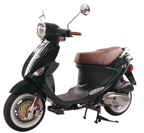 2020 Genuine Scooters Buddy 170i in Hendersonville, North Carolina