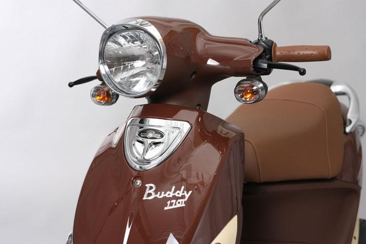 2020 Genuine Scooters Buddy 170i in Lafayette, Indiana