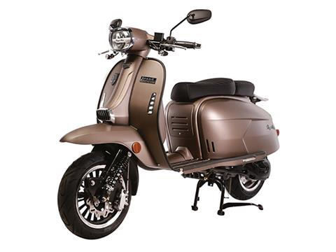 2020 Genuine Scooters Grand Tourer 150 in Lafayette, Indiana