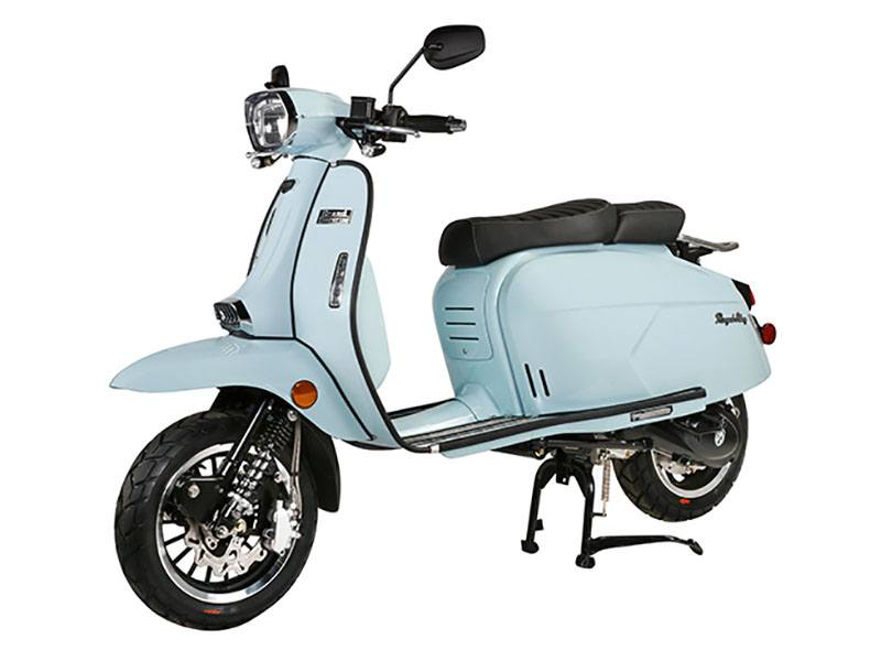 2020 Genuine Scooters Grand Tourer 150 in Evansville, Indiana