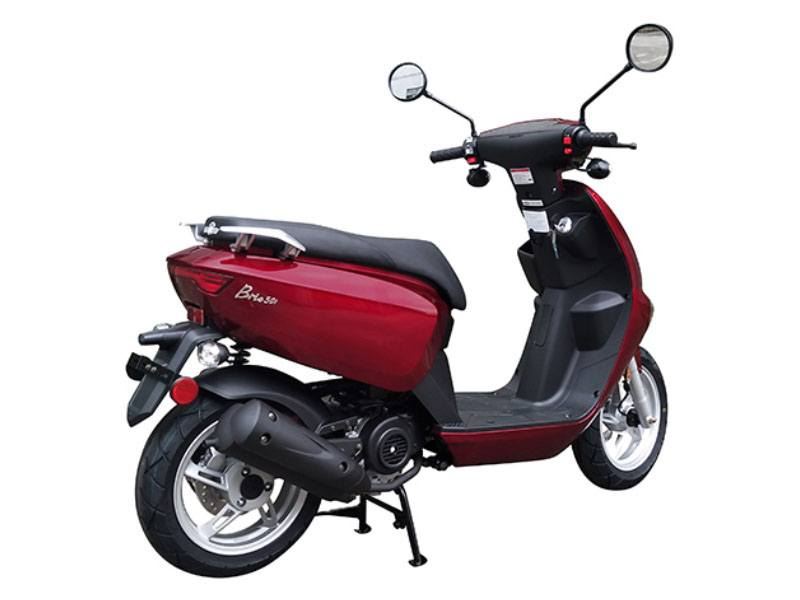 2021 Genuine Scooters Brio 50i in Pensacola, Florida - Photo 3