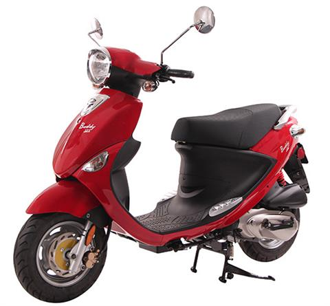 2021 Genuine Scooters Buddy 125 in Battle Creek, Michigan