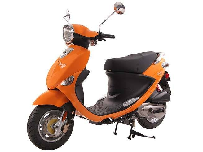 2021 Genuine Scooters Buddy 125 in Winterset, Iowa