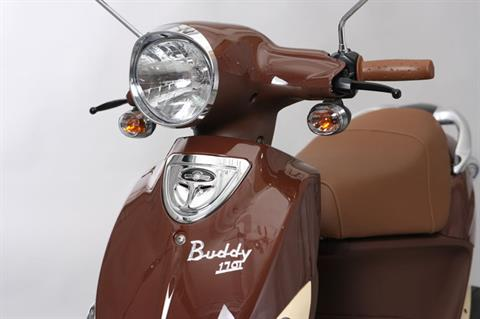 2021 Genuine Scooters Buddy 170i in Evansville, Indiana - Photo 2