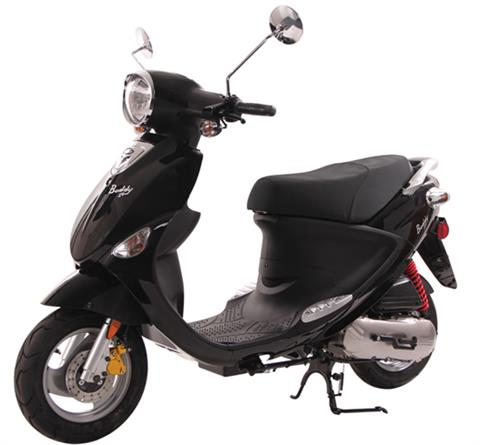 2021 Genuine Scooters Buddy 50 in Sturgeon Bay, Wisconsin